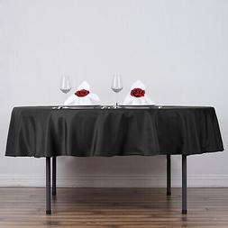 "10 90"" Round Polyester Tablecloths Wedding Party Table Linen"