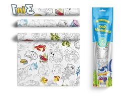 3 in 1 Large Coloring Tablecloth Water Resistant Poster for
