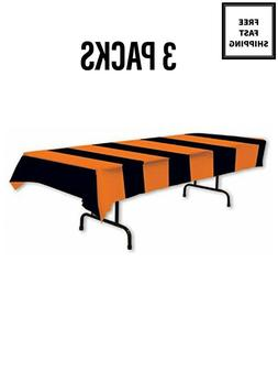3 Pack of Dining Fall Festival Party Autumn Tablecloth Orang