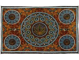 3D Marijuana Leaf Tapestry Weed Tablecloth Hippie Pot Wall A