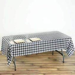 54 x 108 in. Disposable Checkered Plastic Vinyl Picnic Party