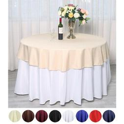 """70"""" Round Polyester Tablecloths for Wedding - BUY Catering T"""