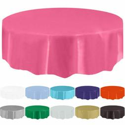84inch round tablecloth disposable table cover