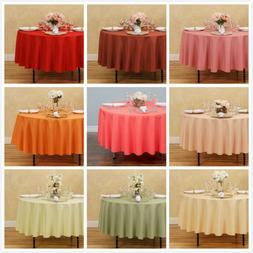 90 in round polyester tablecloths 10 pack