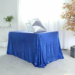 GFCC 90 x 132 -inch Royal Blue Sequin