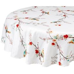 Lenox Chirp Print 60 by 84, Oblong/Rectangle, Multi