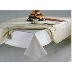 White Quilted Flannel Dining Table Pad Protector 52 x120 New