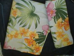 """Tommy Bahama African Orchid Square Tablecloth and Runner 52"""""""