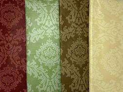 all occasion damask pattern cloth backed vinyl