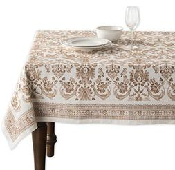 Maison d' Hermine Allure 100% Cotton Tablecloth 60 Inch by 9