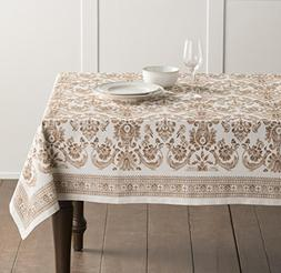 Maison d' Hermine Allure 100% Cotton Tablecloth 60 Inch by 1