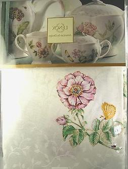 LENOX American by Design Butterfly Meadow Linen Tablecloth 6