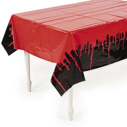 Bloody Vampire Tablecover Tablecloth Zombie Movie Halloween