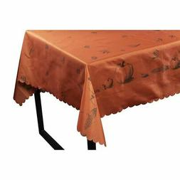 Juvale Calico Rectangle Tablecloth Thanksgiving Party Themed