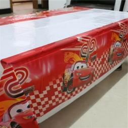 Cars Tablecloth Plastic 108 x 180cm Party Birthday Kids part
