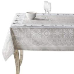 Maison d' Hermine Cozy Christmas 100% Cotton Tablecloth 60 I