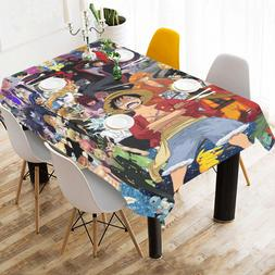 InterestPrint Custom Home Deco One Piece Tablecloth Cotton L