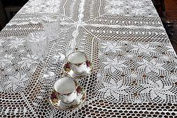Dinning Kitchen Home Knitted Crochet Vintage Lace Table cove