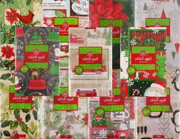 Discount Christmas Vinyl Tablecloths - Various Patterns and