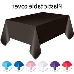 Disposable Tablecloths Plastic Banquet Party Table Cover Rol