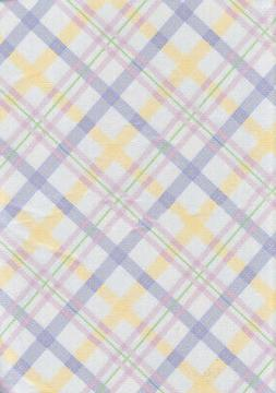 Spring Tablecloth Vinyl Pastel Plaid Easter Color Purple Pin