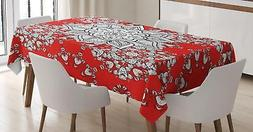 Eastern Mandala Tablecloth Ambesonne 3 Sizes Rectangular Tab