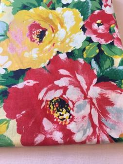 "Floral Tablecloth  Cotton Blend 52x 70"" NEW"