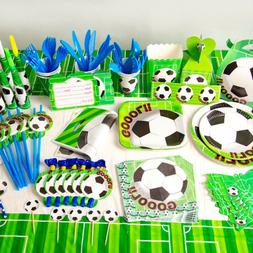 FOOTBALL THEME Championship Soccer Birthday Party Supplies T