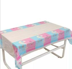 Gender Reveal Boy or Girl Tablecloth Table Cover Party Table