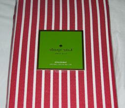 Kate Spade HARBOUR DRIVE CRANBERRY Red & White Stripe 60 x 1