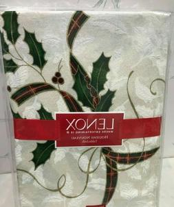 Lenox Holiday Nouveau Tablecloth, 60 by-140-Inch Oblong/Rect