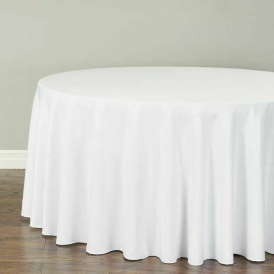 LinenTablecloth Round Polyester 33