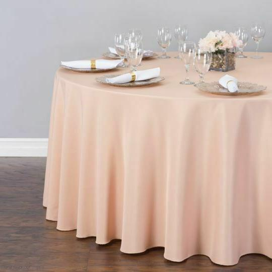 LinenTablecloth 132 in. Polyester Tablecloths, 33 Colors!