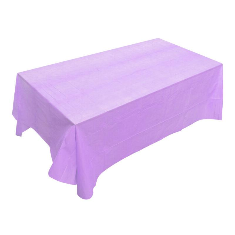 1pc Color Disposable Table Cover Event