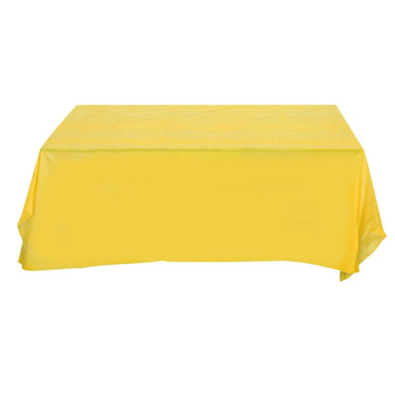 1pc Tablecloth Disposable Rectangle Cover for Event