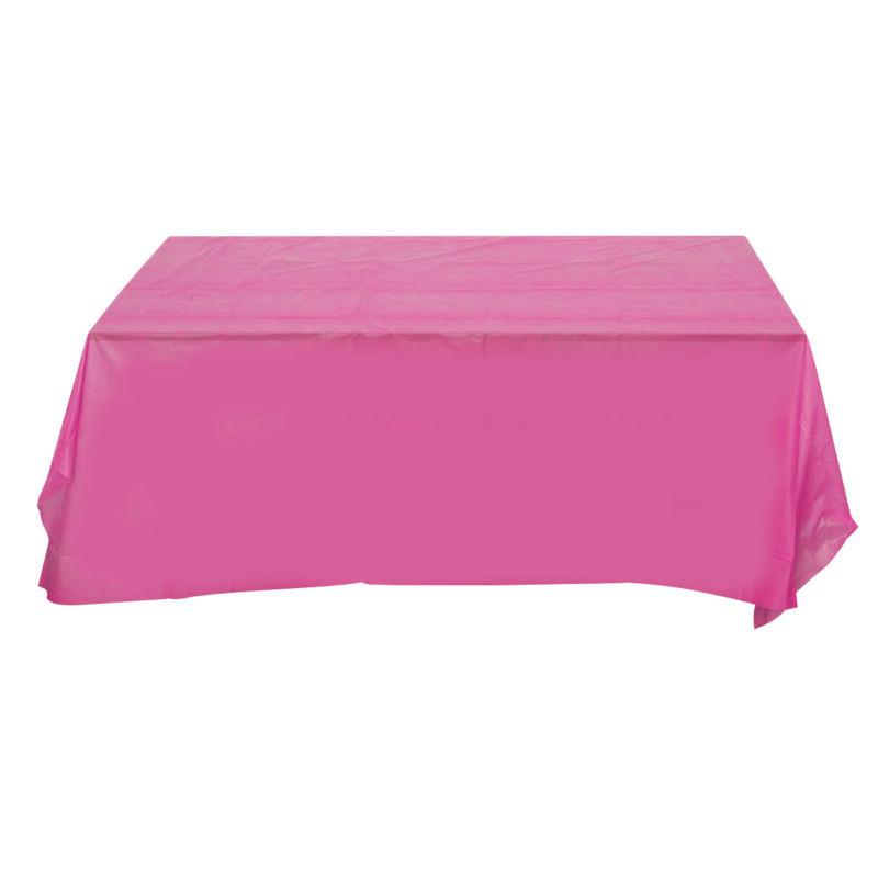 1pc Tablecloth Pure Disposable Rectangle Cover Event