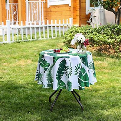 Poise3EHome 52 inches Waterproof Tablecloth for