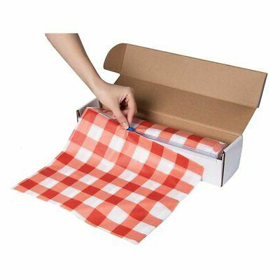 """54"""" x Feet Plastic Banquet Cover Disposable Red"""