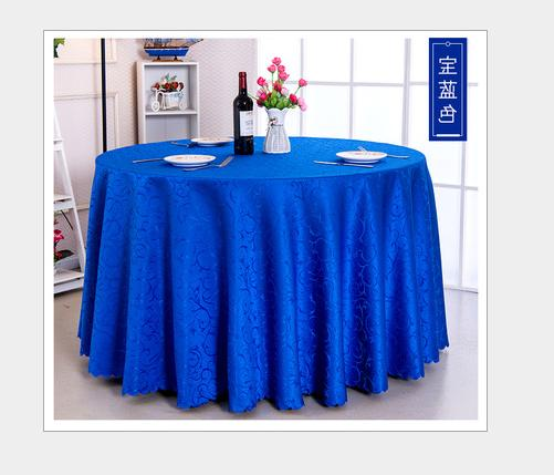 60''-120'' Round Cover For Wedding Banquet Table
