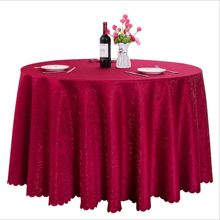 60''-120'' Round Polyester Cover Wedding Banquet Table