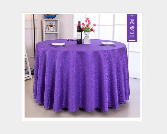 60''-120'' Round Tablecloth Cover Banquet New+