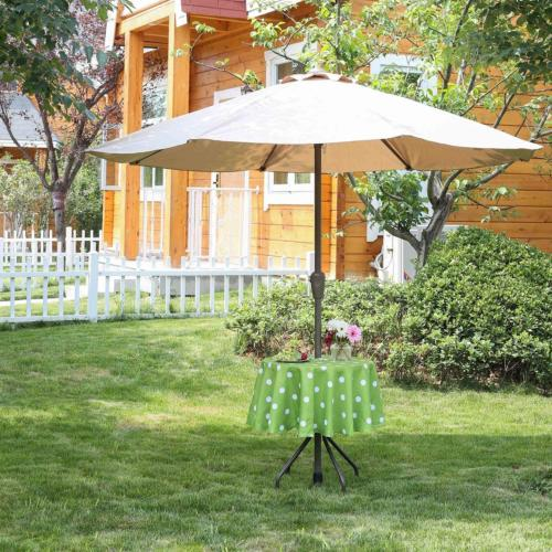 Poise3EHome 60 Outdoor/Indoor Waterproof Tablecloth with