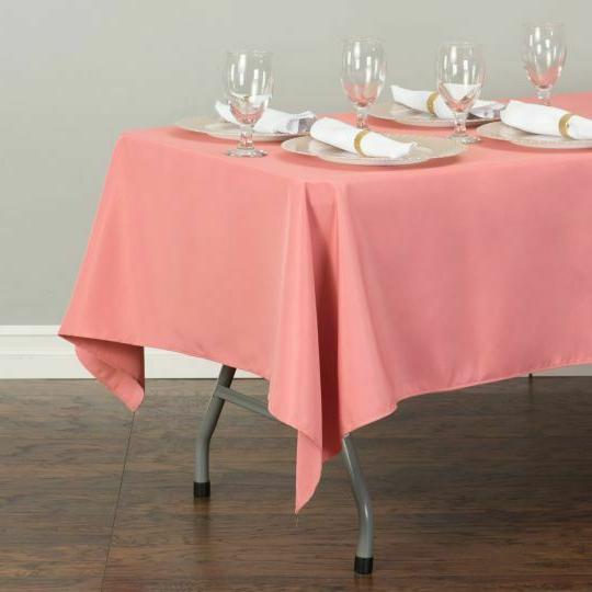 LinenTablecloth in.Rectangular Polyester Wedding Event Party
