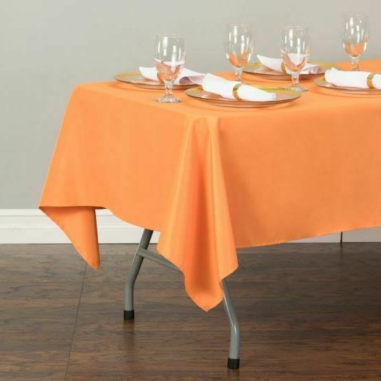 LinenTablecloth 60 in.Rectangular Event