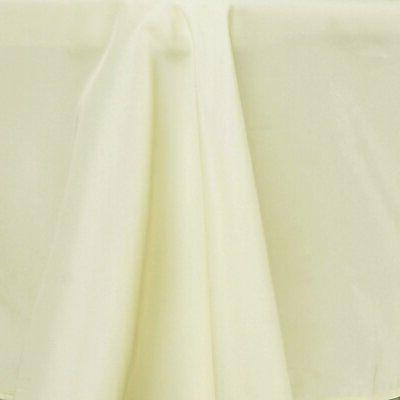 70-Inch Round Tablecloth for Wedding