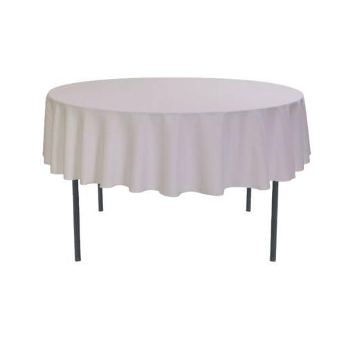 YCC Linens 70 Inch Round Polyester for and events