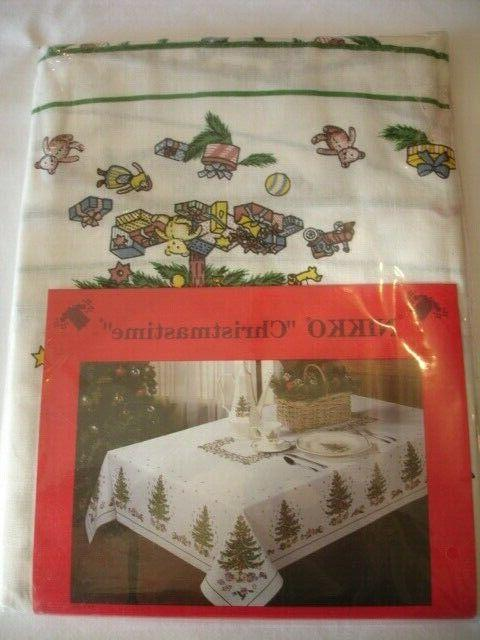 70 round christmastime tablecloth festive designs 100