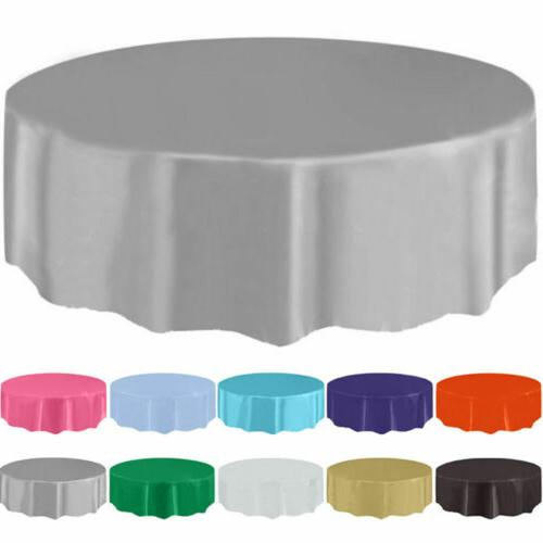 84inch Round Disposable Table Cover for Wedding