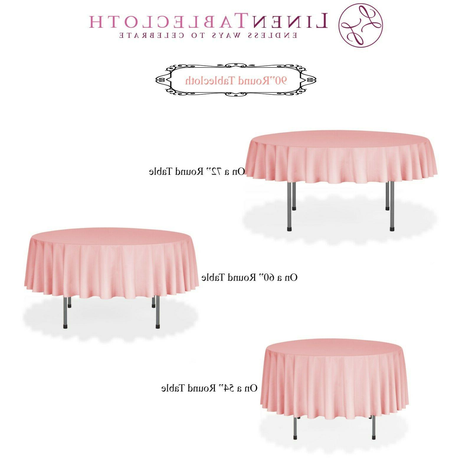 LinenTablecloth Polyester Tablecloths, Weddings Events