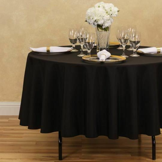 LinenTablecloth Polyester Colors! Weddings &